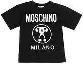 Moschino Glow In The Dark Print Cotton T-Shirt