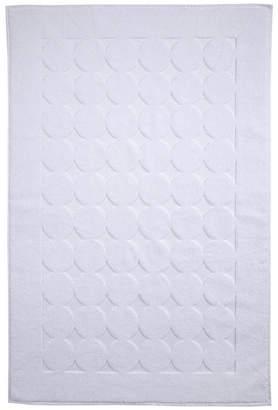 Ozan Premium Home Orbit Luxury Circle Design Bath Mat Bedding