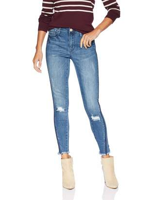 Seven7 Women's Mid Rise Signature Ankle Skinny