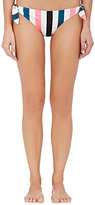 Solid & Striped Women's Jane Striped Microfiber Bikini Bottom-PINK