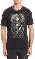 Nike Men's Metallic Football Graphic Dri-Fit T-Shirt