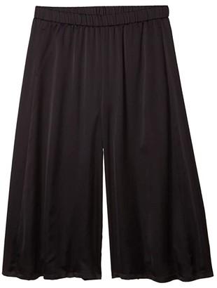 Eileen Fisher Culotte Crop Pants (Black) Women's Casual Pants