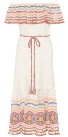 Anna Kosturova Marianne cotton midi dress