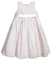 Laura Ashley London 2T-6X Cutout Floral Print Dress