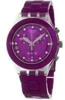 Swatch Women's Full Blooded SVCK4048AG Aluminum Swiss Quartz Watch