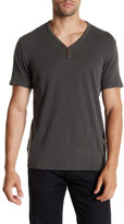 Lucky Brand Salt Point Y-Neck Henley