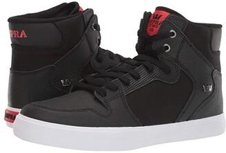 Supra Vaider (Black TUF/White) Men's Skate Shoes