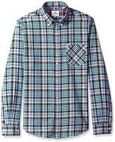 Ben Sherman Men's Long Sleeve Tartan Gingham Shirt