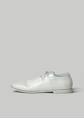 Marsèll Women's Derby Shoes in White Size 37.5 Leather