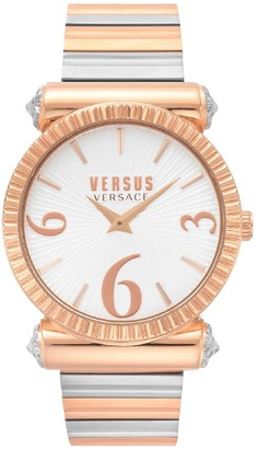 Versus Women's Republique Two-Tone Bracelet Watch, 38mm