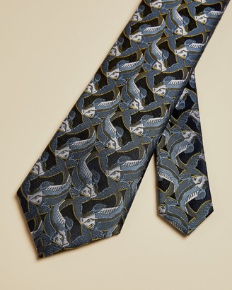 Ted Baker Fish Jacquard Tie