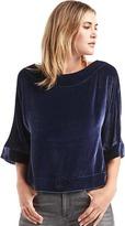 Gap Velvet kimono-sleeve top