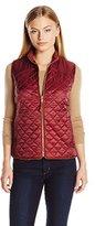Rafaella Women's Petite Weekend Quilted Puffer Vest