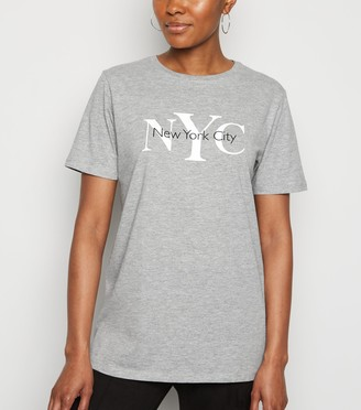 New Look NYC Slogan T-Shirt