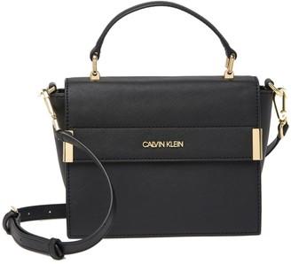 Calvin Klein Saffiano Top Handle Crossbody