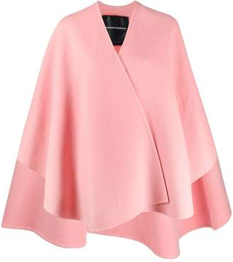 Ermanno Scervino wide sleeve cape-coat