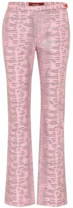 Sies Marjan Karima lizard-jacquard pants