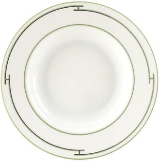 Hermes Rythme Dessert Plate Printed Porcelain