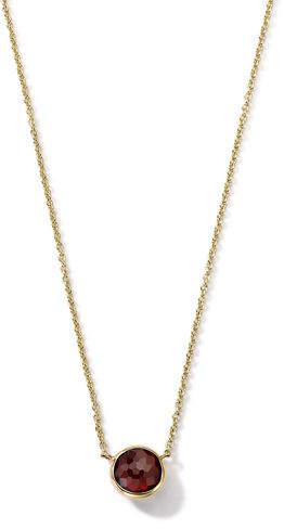 "Ippolita 18K Gold Mini-Lollipop Birthstone Necklace, 16-18"""