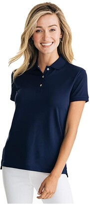 Southern Tide Jackie Performance Polo (Nautical Navy) Women's Clothing