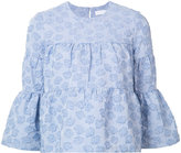 Co floral embroidered top - women - Cotton/Polyester/Polyacrylic/Polyimide - S