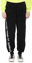 Off-White Men's Cotton Fleece Oversized Sweatpants