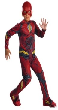 BuySeasons Justice League Flash Little and Big Boys Costume