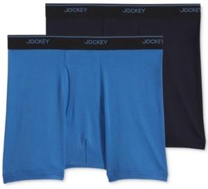 Jockey Big Man 2 pack Staycool+ Cotton Boxer Briefs