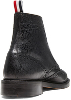 Thom Browne Wingtip Leather Boots