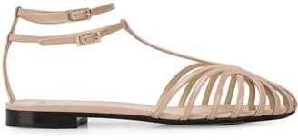 Alevì Strappy Low Heel Sandals