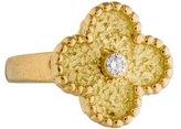 Van Cleef & Arpels Vintage Alhambra Ring