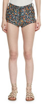 Isabel Marant Prewitt Printed Leather Shorts, Multi