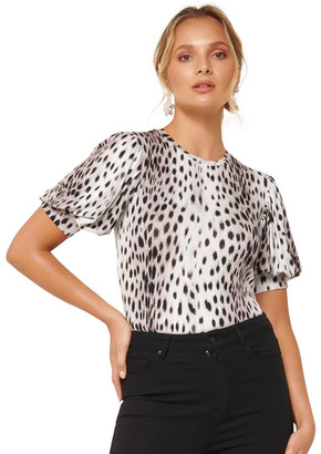 Forever New Nicolette Puff Sleeve Tee