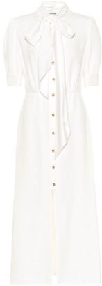 Prada Embellished sablA shirt dress