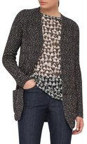Akris Stretch Cotton Tweed Knit Cardigan