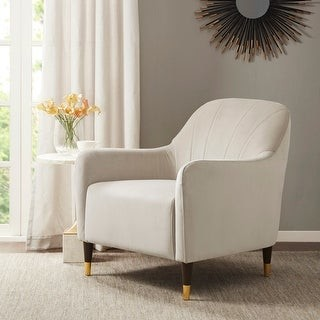 Madison Home USA Estebana Cream Accent Chair