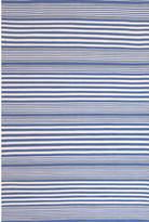 Dash & Albert Rugby Stripe Denim Rug
