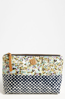 Tory Burch 'Large' Slouchy Cosmetics Case