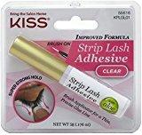 Kiss Strip Eyelsh Adhsv C Size 1 Eac Strip Eyelash Adhesive Kplgl01 Clear