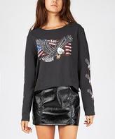 Lee U.S.A Bird Of Prey Long Sleeve T-shirt Black