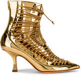 Y/Project 19513 Ankle Boot in Gold | FWRD