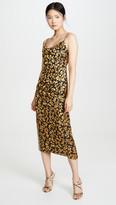 Club Monaco Burnout Slip Dress