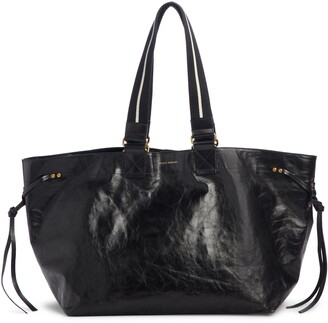 Isabel Marant Wardy New Leather Shopper Tote