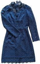 Claudie Pierlot FW18 Turquoise Lace Dresses