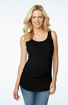Maternal America Women's Ruched Maternity/nursing Tank Top