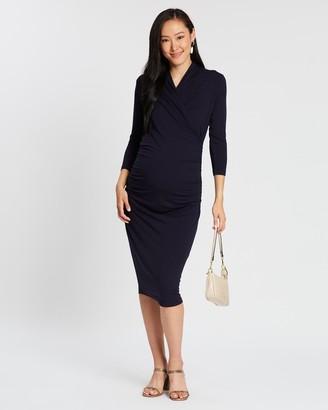 Isabella Oliver Balcombe Maternity Dress