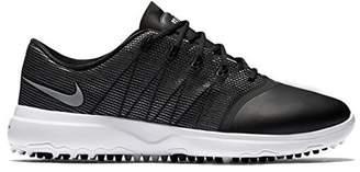Nike Women's Lunar Empress 2 Golf Shoes, (Black/Metallic Silver/White), 5 UK EU