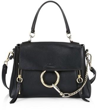 Chloé Small Faye Leather Satchel