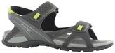 Hi Tec Charcoal/black Laguna Strap Sandals