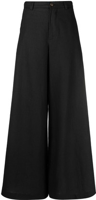 Societe Anonyme Flared-Leg Trousers